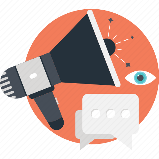advert, chat, commercial, megaphone, promotion icon