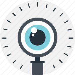 magnifier, market research, seo, view, vision icon
