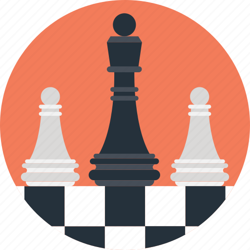 Policy, plan, scheme, chess, strategy icon