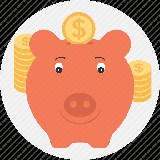 Bank, cash bank, funding, piggy, saving icon - Download on Iconfinder