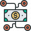 affiliate, crowdfunding, dollar, finance, financial, markting, money icon