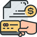 card, cash payment, credit card, currency, money, payment, payment icon icon