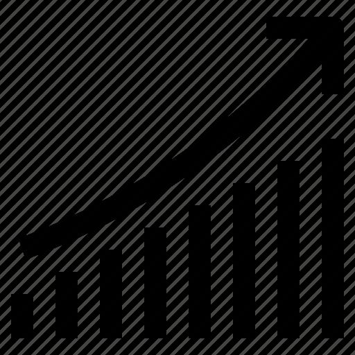 business, commerce, economic, finance, grow, line, shop icon