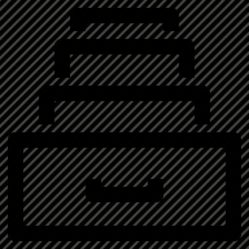 archive, business, commerce, economic, finance, shelf, shop icon