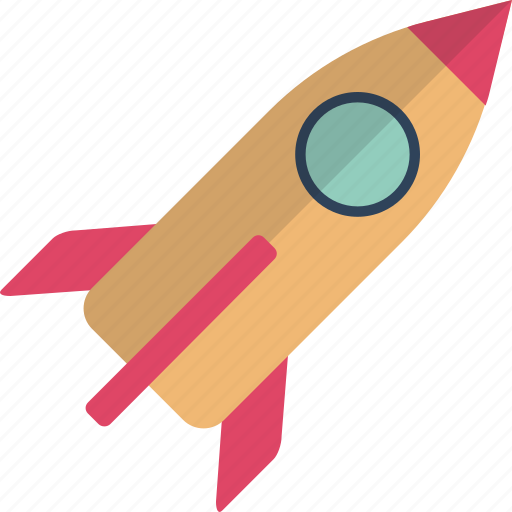 missile, rocket, rocket launch, space, space travelling, spacecraft, spaceship icon