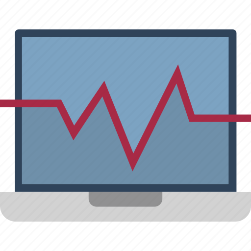 analytic, analytical chart, bar chart, infographic, laptop, online graph, web analytics icon
