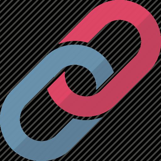 chain link, hyperlink, link, linkage, linked website, url, web link icon