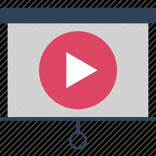 animated video presentation, art board, business presentation, graph presentation, presentation board, video easel board, video presentation from board icon
