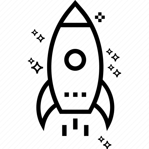 missile, rocket, rocket launch, space, spacecraft, spaceship, startup launch icon