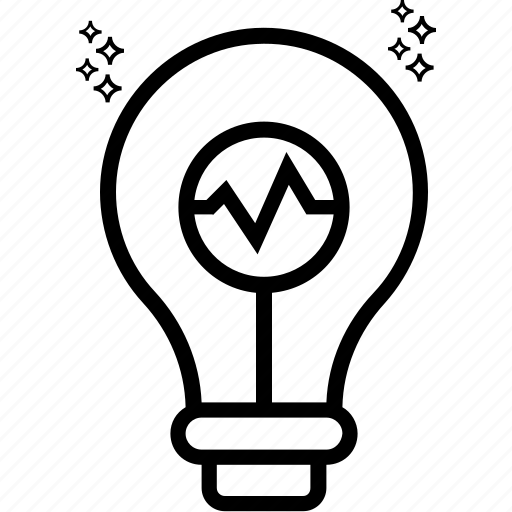 bulb, electric light, idea generate, illumination, light, light bulb, luminaire icon