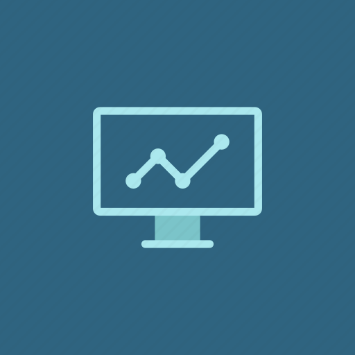 analytics, chart, computer, data, diagram, graph, statistics icon