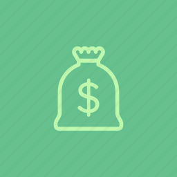 bag, business, finance, investment, money, sack, wealth icon