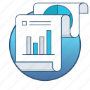 analysis, analytics, business, chart, diagram, report, statistics icon