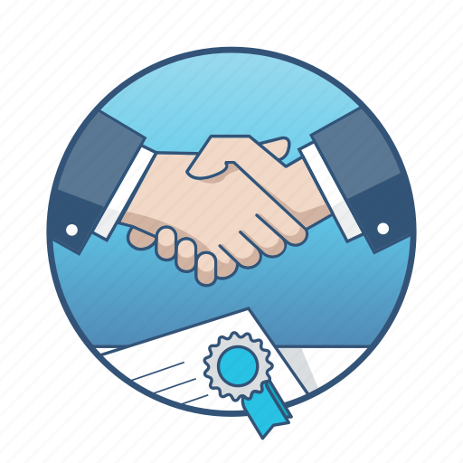 agreement, business, contract, deal, handshake, meeting, office icon