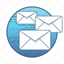 communication, email, envelope, letter, mail, message, send