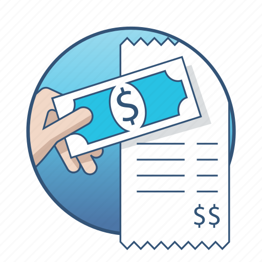 bill, business, buy, cash, money, payment, shopping icon