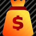 bags, bukeicon, finance, money, pockets, sacks