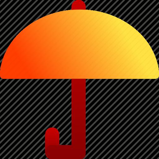 bukeicon, finance, protection, rain, umbrella icon