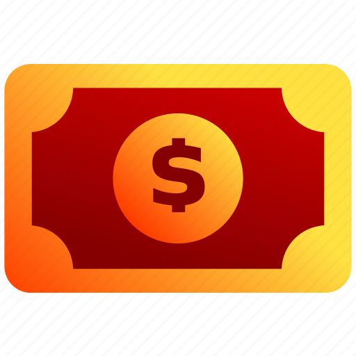bukeicon, business, dollars, finance, notes, paper icon