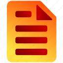 bukeicon, business, contracts, finance, notes icon