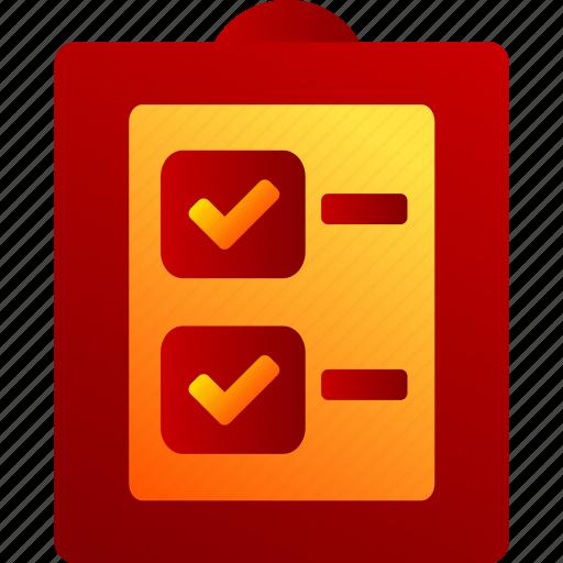 Bukeicon, check, checklist, finance, record, report icon - Download on Iconfinder
