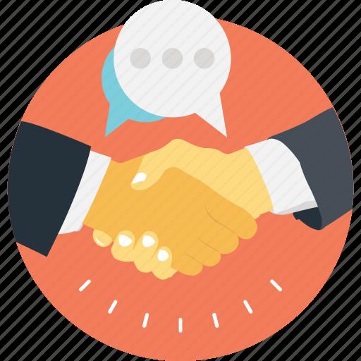 business, communication, deal, partner, partnership icon
