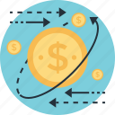 affiliate marketing, dollar, money, processing, usd icon