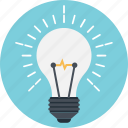 bulb, creativity, idea, invention, productivity icon