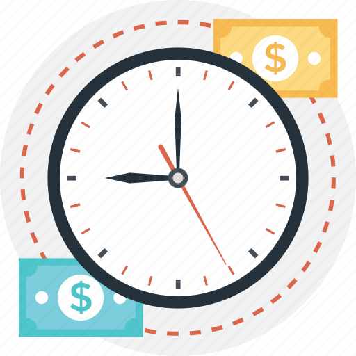 clock, investment time, time is money, timekeeper, timer icon