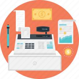 accounting, business, finance, pos, receipt icon