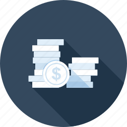 cash, coin, currency, gold, investment, money, savings icon