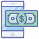ebanking, internet banking, mcommerce, mobile banking, online banking icon
