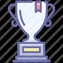 award trophy, champion trophy, triumph, trophy, winner cup icon