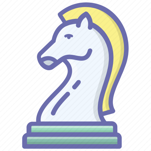 chess, chess knight, chess piece, pawn, strategy icon