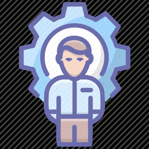 administrator, director, executive, manager, supervisor icon