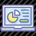 business graph, business infographic, business statistics, data analytics, data representation icon