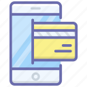 card payment, digital payment, mobile payment, online payment, secure payment icon