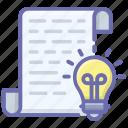 creative archive, creative document, documentation, innovatie archive, innovative document icon