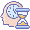 efficient mind, personal capability, personal effectiveness, personal efficiency, personal productivity icon