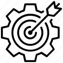 abojective, aim, bullseye, dart, dartboard, target board icon