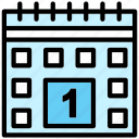 calendar, date, days, event, schedule icon