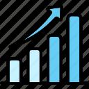 bar, chart, graph, growth, statistics icon