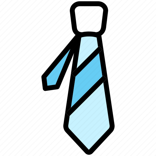 business, dress, office, person, tie icon