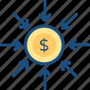 digital, internet, money, payment icon