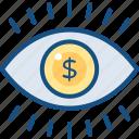 eye, finance, market, vision