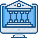 banking, internet, lcd, money, online, online payment icon