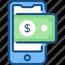 banking, mobile banking, online banking icon