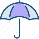 insurance, protection, rain, umbrella, weather, wet icon