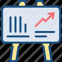 analytics, board, chart, metrics, report
