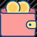 personal, personal wallet, purse, wallet icon